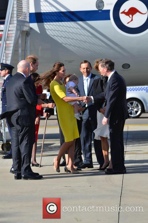 Catherine, Duchess Of Cambridge, Prince William, Duke Of Cambridge and Prince George Of Cambridge 7
