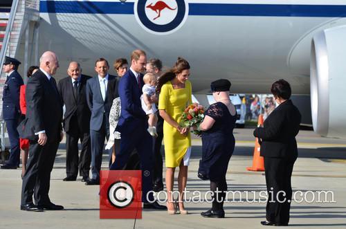 Catherine, Duchess Of Cambridge, Prince William, Duke Of Cambridge and Prince George Of Cambridge 8
