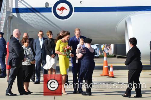 Catherine, Duchess Of Cambridge, Prince William, Duke Of Cambridge and Prince George Of Cambridge 9