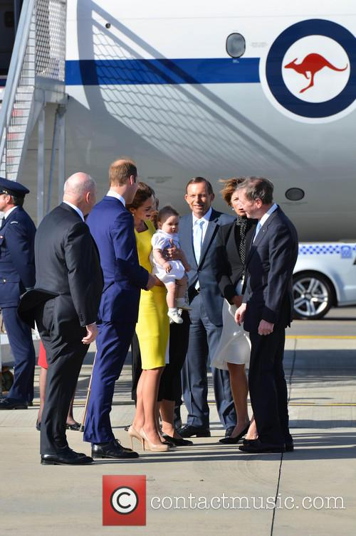 Catherine, Duchess Of Cambridge, Prince William, Duke Of Cambridge and Prince George Of Cambridge 10