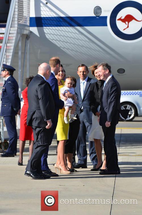 Catherine, Duchess Of Cambridge, Prince William, Duke Of Cambridge and Prince George Of Cambridge 11