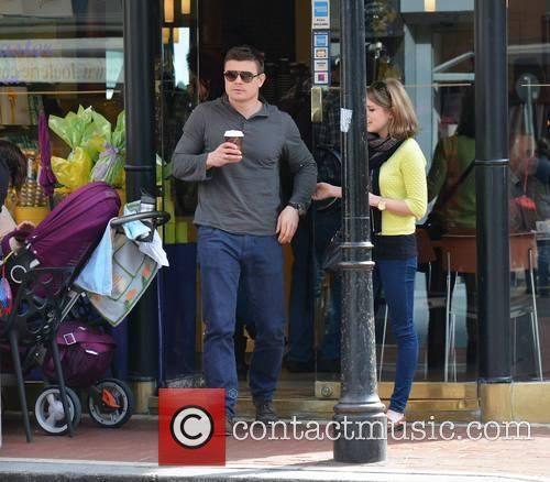 Brian O'Driscoll and wife Amy Huberman