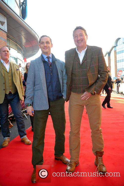 Tom Hardy and Steve Knight (director) 4