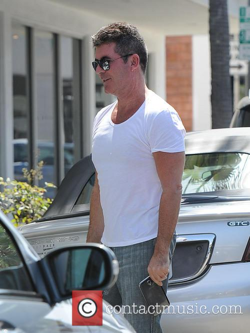 simon cowell simon cowell out and about 4158495