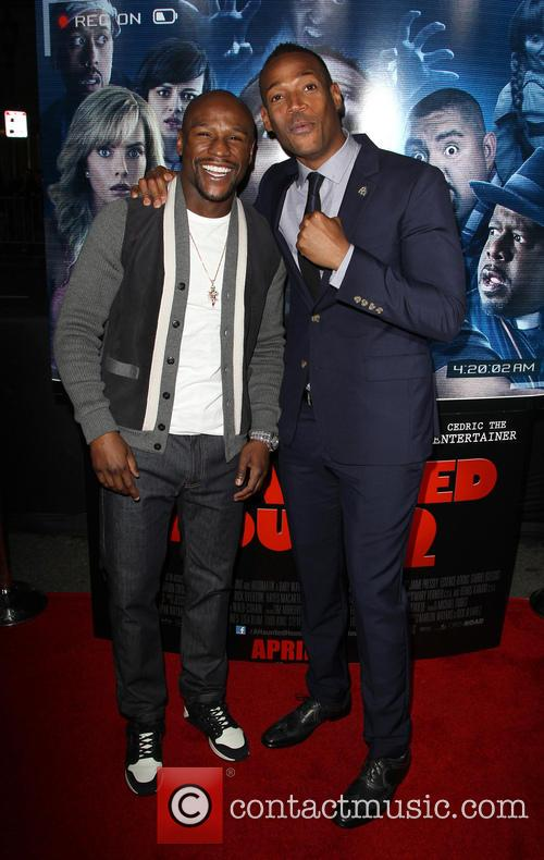 Floyd Mayweather Jr and Marlon Wayans 5