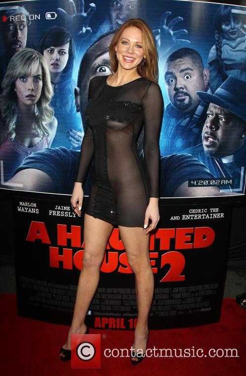 Premiere of Open Road Films' 'A Haunted House...