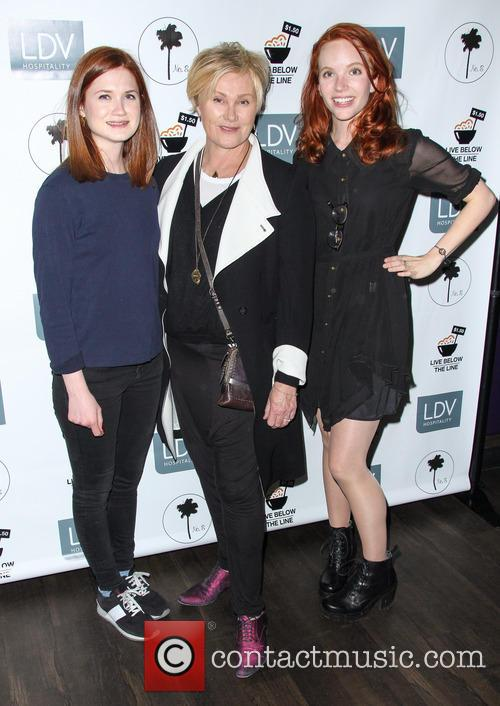 Bonnie Wright, Deborra-lee Furness and Tamzin Merchant