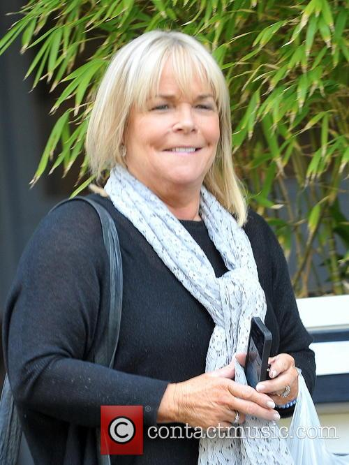 Linda Robson leaving the ITV studios
