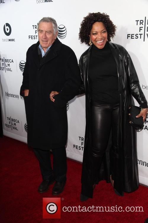 Robert De Niro and Grace Hightower 2