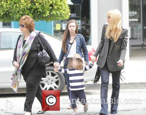 Rachel Zoe, Skyler Berman and Grandma 6