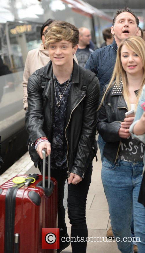 Connor Ball and The Vamps 1