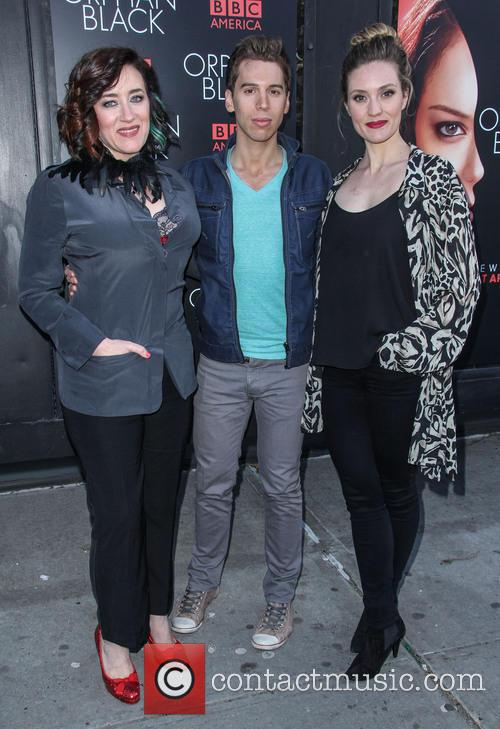 Maria Doyle Kennedy, Jordan Gavaris, Evelyn Brochu, Sunshine Cinema