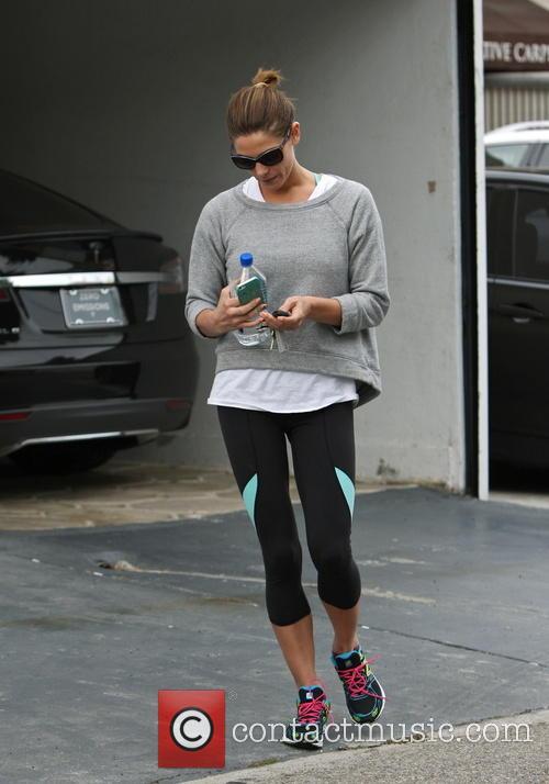 Ashley Greene At Her Gym