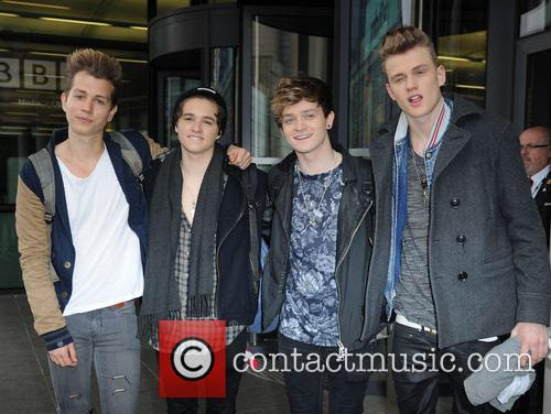The Vamps, James Mcvey, Bradley Simpson, Connor Ball and Tristan Evans 2
