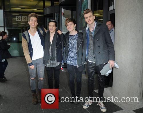 The Vamps, James Mcvey, Bradley Simpson, Connor Ball and Tristan Evans 3