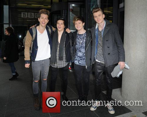 The Vamps, James Mcvey, Bradley Simpson, Connor Ball and Tristan Evans 1