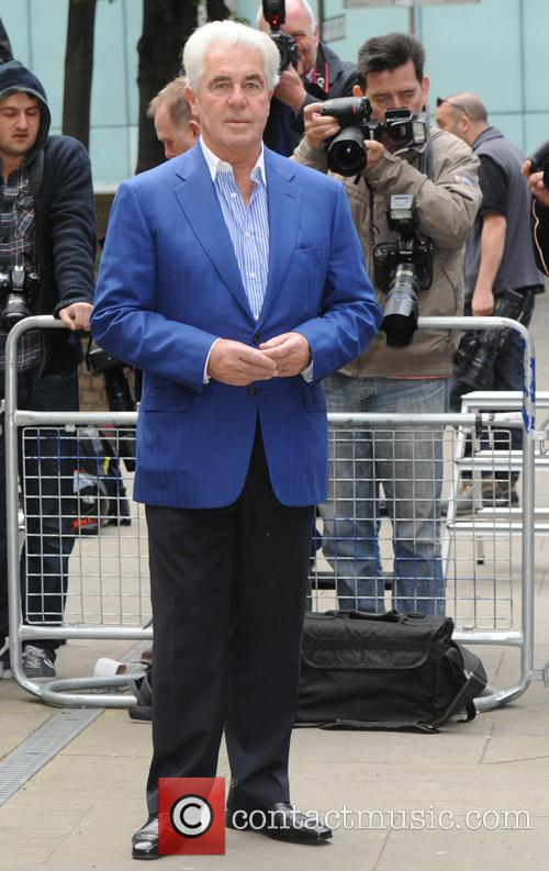 Max Clifford arriving at Southwark Crown Court