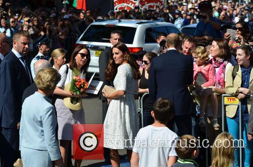 The Duke And Duchess Of Cambridge Tour Australia...
