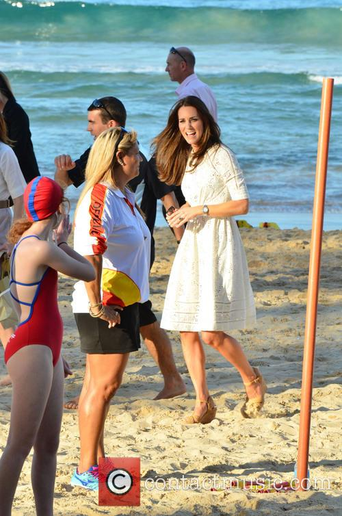 Duke and Duchess of Cambridge Sydney Manly Beach,...
