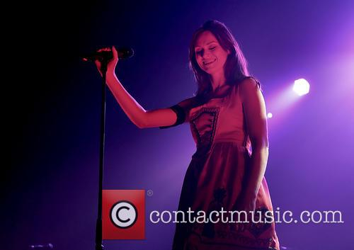 Sophie Ellis-Bextor performing at The Ritz in Manchester