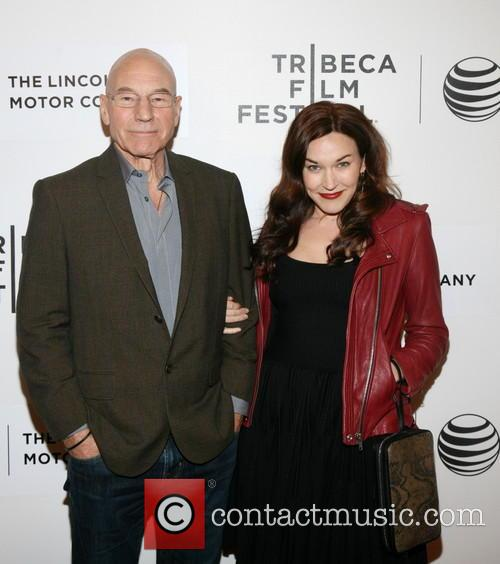 Patrick Stewart and Sunny Ozel 4