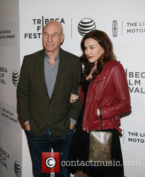 Patrick Stewart and Sunny Ozel 1