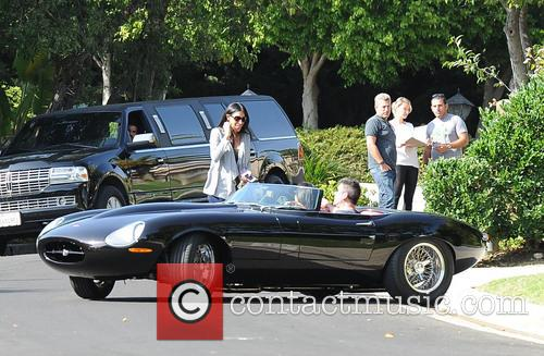 Simon Cowell and Lauren Silverman go for a...