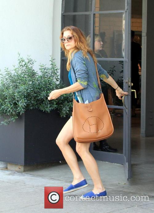 Kate Walsh running errands in West Hollywood