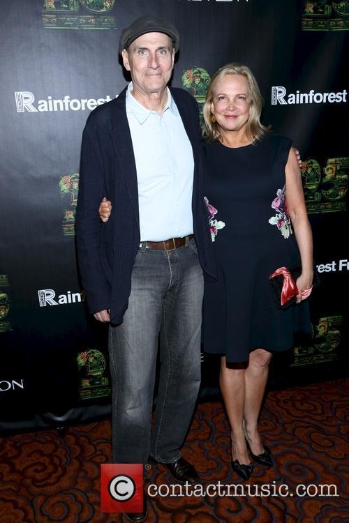 James Taylor and Kim Smedvig