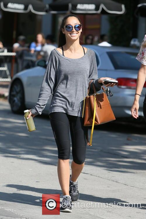 Cara Santana and Sarah Schreiber spotted out in...