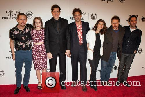 Marisa Tomei, Ivan Martin, Writer Michael Godere, Adam Rapp, Isabelle Mcnally, Bryan Geraphty and Sam Rockwell 2
