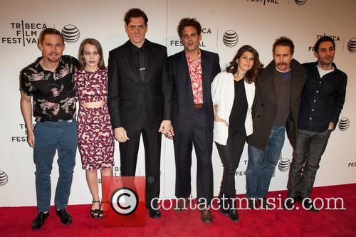 Marisa Tomei, Ivan Martin, Writer Michael Godere, Adam Rapp, Isabelle Mcnally, Bryan Geraphty and Sam Rockwell 4