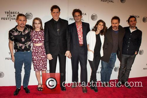 Marisa Tomei, Ivan Martin, Writer Michael Godere, Adam Rapp, Isabelle Mcnally, Bryan Geraphty and Sam Rockwell 5