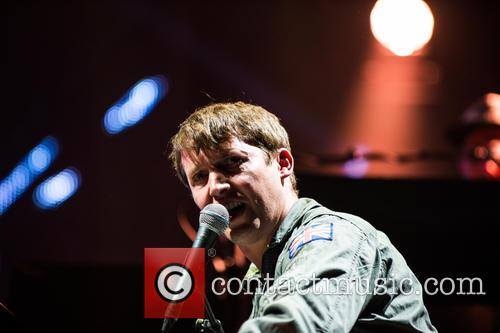 James Blunt performs at the Royal Albert Hall...