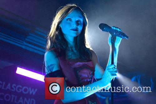 Sophie Ellis-Bextor performing at Oran Mor in Glasgow