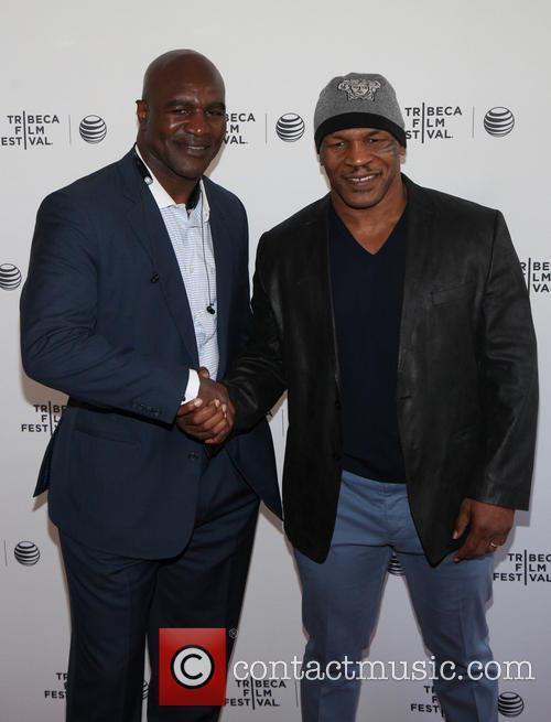 Evander Holyfield and Mike Tyson 2