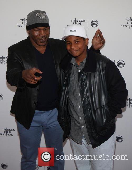 Mike Tyson and Miguel Tyson 7