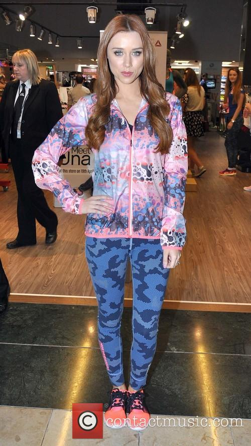 Una Foden launches her Reebok Spring Summer Fitness collection