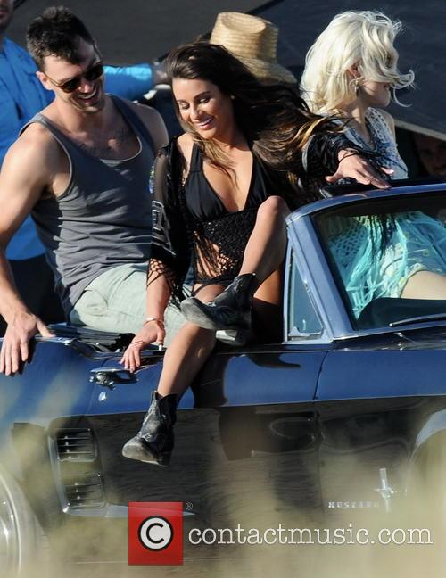 Lea Michele, On My Way Video