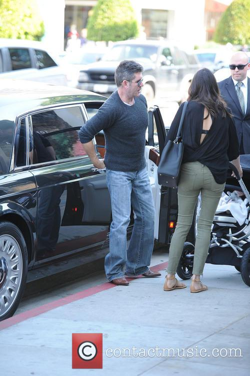 Simon Cowell, Lauren Silverman and Eric Cowell 2