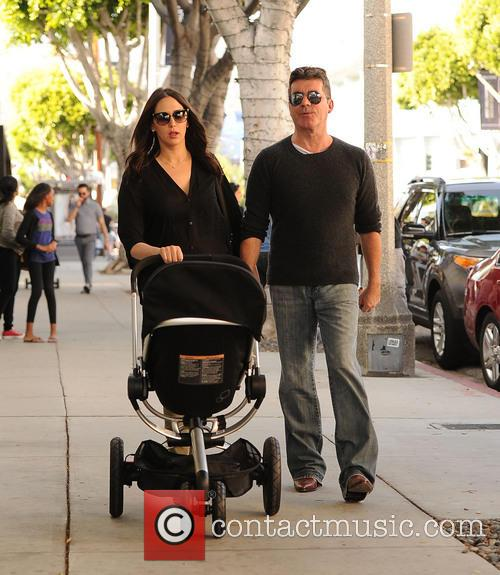 Simon Cowell, Lauren Silverman and Eric Cowell 7