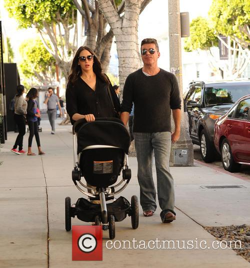 Simon Cowell, Lauren Silverman and Eric Cowell 8