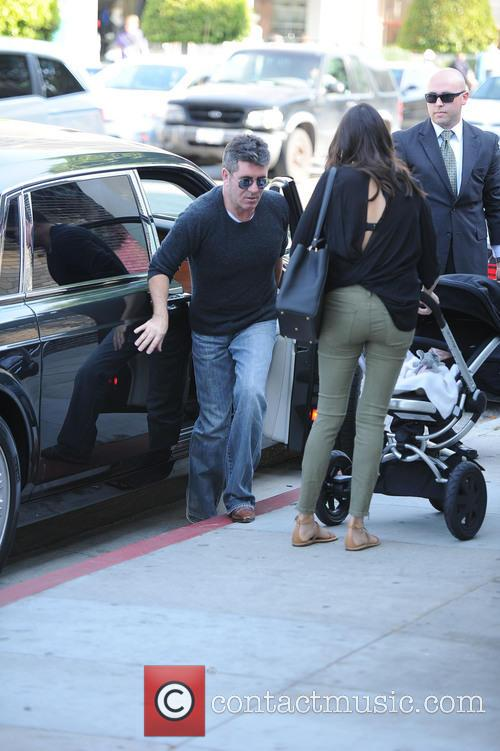 Simon Cowell, Lauren Silverman and Eric Cowell 9