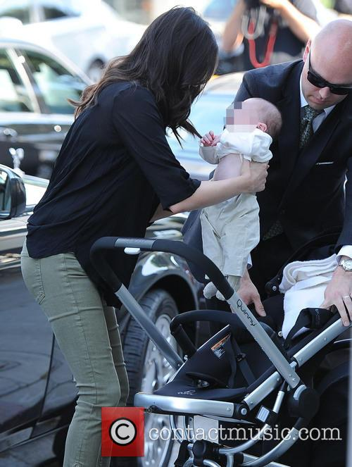Simon Cowell, Lauren Silverman and Eric Cowell 1