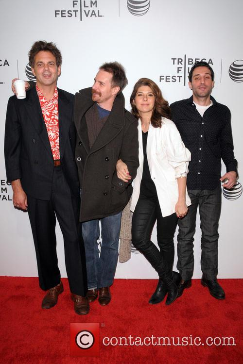 Ivan Martin, Sam Rockwell, Marisa Tomei and Michael Godere