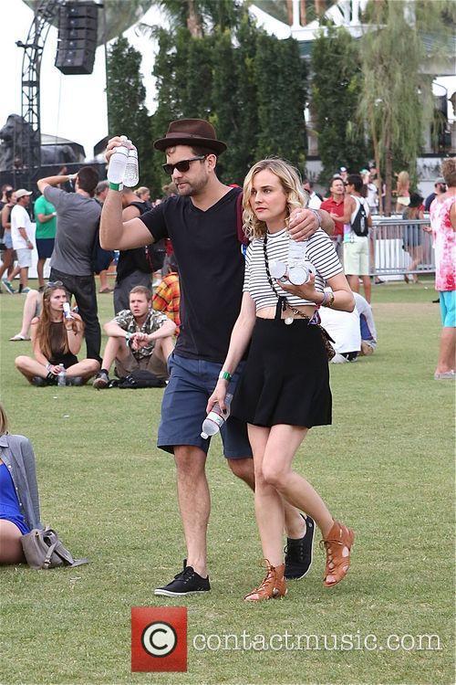 Diane Kruger, Joshua jackson, Coachella