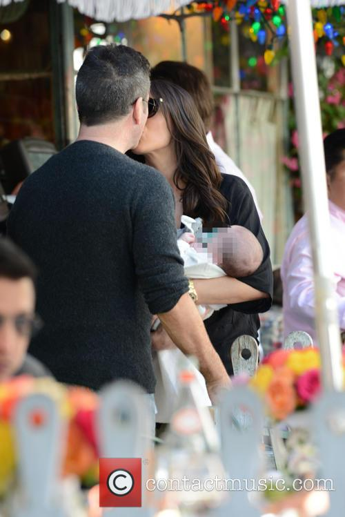 Simon Cowell, Lauren Silverman and Eric Cowell 5