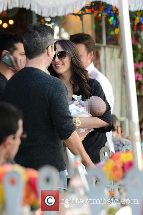 Simon Cowell, Lauren Silverman and Eric Cowell 10