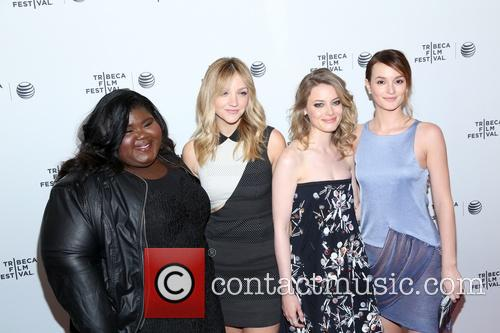 Gabby Sidibe, Abby Elliot, Gillian Jacob and Leighton Meester 1