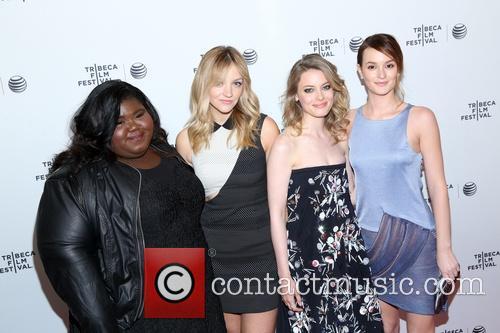 Gabby Sidibe, Abby Elliot, Gillian Jacob and Leighton Meester 2